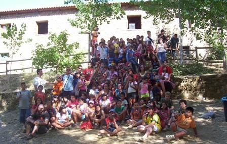 Asistentes Campamento 2008